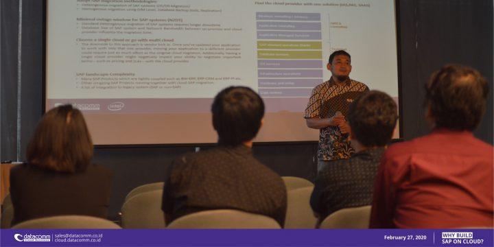 Seminar Migrasi SAP ke Cloud. Datacomm Cloud penyedia Server SAP Provider di Indonesia, didukung cloud services terbaik.