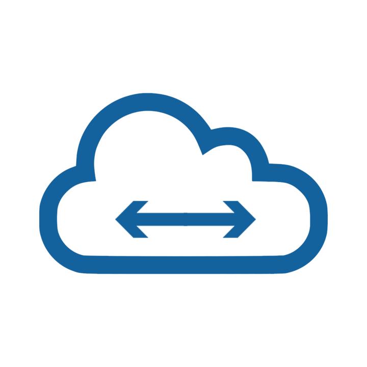 Elastic, distributed icon