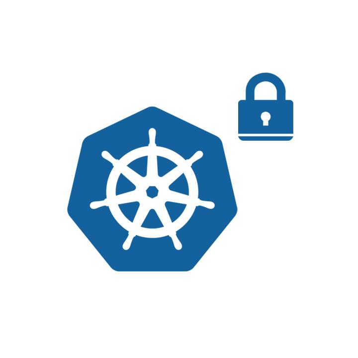 Kubernetes security icon